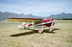 1949 CESSNA 195 Fixed wing single engine Royalty Free Stock Images