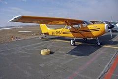 Cessna Flugzeug Stockfotos