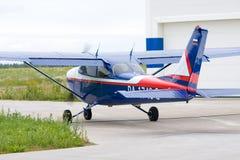Cessna-Flugzeug Lizenzfreie Stockbilder