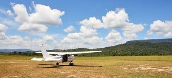 Cessna Flugzeug Lizenzfreies Stockfoto