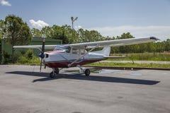 Cessna flygplan Arkivfoton