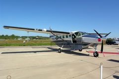 Cessna großartiger Wohnwagen lizenzfreies stockfoto
