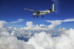 Cessna 208 Karawanowy i niebo Obraz Stock