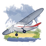 Cessna stock illustration