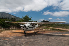 Cessna 175 Stock Images