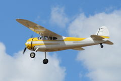 Cessna 195 passenger aircraft Royalty Free Stock Photos