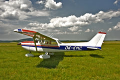 Cessna Private Airplane Royalty Free Stock Photo