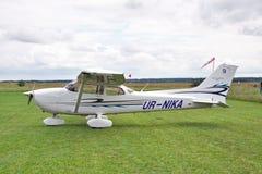 Cessna 172 Skyhawk Photographie stock libre de droits