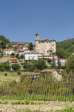 Cessole (Asti, Italy), old village. Cessole (Asti, Piedmont, Italy) - View of the historic village Royalty Free Stock Photos