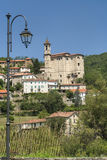 Cessole (Asti, Italy), old village. Cessole (Asti, Piedmont, Italy) - View of the historic village Stock Images