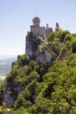 cest Di Marino repubblica rocca San po drugie wierza Fotografia Stock