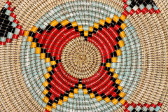 Cesta africana Imagen de archivo libre de regalías