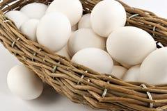 Cesta com ovos Foto de Stock Royalty Free
