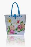 Cesta com projeto da flor Imagens de Stock