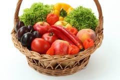 Cesta com vitaminas foto de stock royalty free