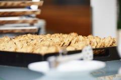 Cesta da cookie Fotografia de Stock
