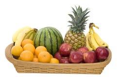 Cesta da fruta Imagem de Stock