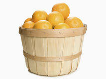 Cesta das laranjas Foto de Stock