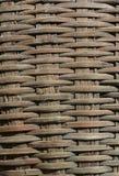 Cesta de bambú fotos de archivo