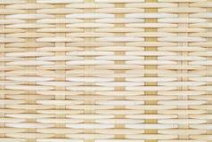 Cesta de bambú Foto de archivo libre de regalías