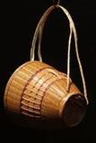 Cesta de bambu Imagem de Stock