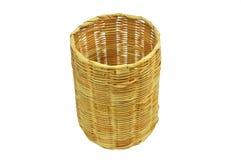 Cesta de bambu Imagem de Stock Royalty Free