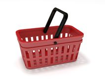 Cesta de compra Imagens de Stock