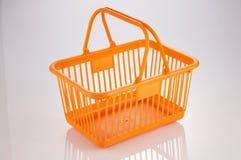 Cesta de compras Imagen de archivo libre de regalías