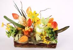 Cesta de Easter Imagens de Stock
