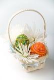 Cesta de Easter Imagens de Stock Royalty Free