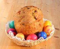 Cesta de Easter. imagem de stock