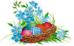 Cesta de Easter Fotografia de Stock Royalty Free
