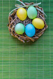 Cesta de Easter Foto de Stock Royalty Free