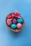 Cesta de Easter Foto de Stock Royalty Free