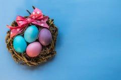 Cesta de Easter Imagem de Stock