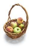 Cesta de frutas frescas Imagen de archivo