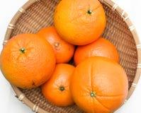 Cesta de fruto Imagem de Stock