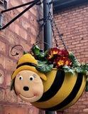 Cesta de la ejecución de la abeja Fotografía de archivo