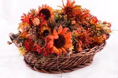 Cesta de la flor Imagenes de archivo