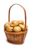 Cesta de la patata Fotografía de archivo libre de regalías
