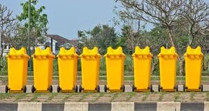 Cesta de lixo Fotos de Stock