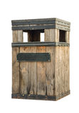 Cesta de lixo Imagens de Stock Royalty Free