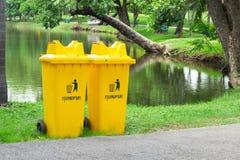 Cesta de lixo Foto de Stock