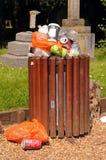 Cesta de lixo, Stratford-em cima-Avon Fotos de Stock