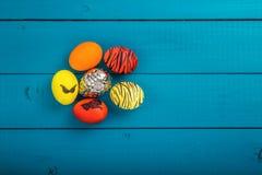 Cesta de los huevos de Pascua Fotografía de archivo libre de regalías