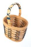 Cesta de madeira/Easter. Imagens de Stock Royalty Free