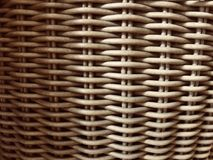 Cesta de madeira de Weaven Imagem de Stock