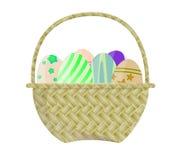 Cesta de Pascua Stock de ilustración