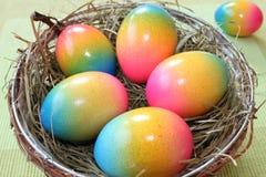 Cesta de Pascua imágenes de archivo libres de regalías