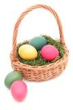 Cesta de Pascua Fotografía de archivo libre de regalías